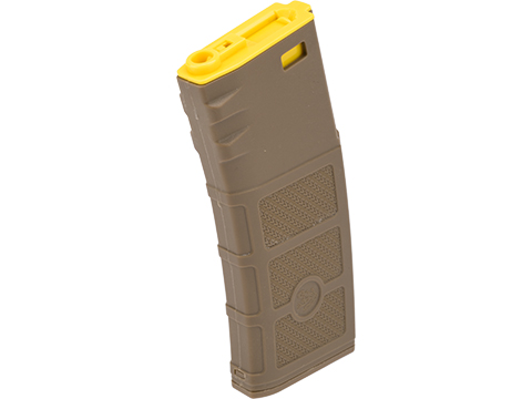 G&P High RPS Polymer Training Magazine w/ EV Texturing for M4 Airsoft AEG Rifles