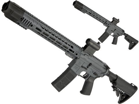 EMG SAI GRY Forged Receiver AR-15 AEG Training Rifle w/ JailBrake Muzzle and i5 Gearbox