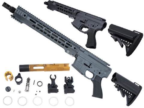 EMG Limited Edition Cerakoted Salient Arms GRY Airsoft Rifle Kit for Marui MWS System Gas Blowback