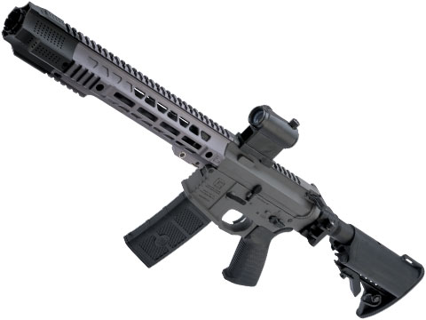EMG SAI GRY Gen. 1 Billet Style Receiver AEG Training Rifle w/ JailBrake Muzzle and Folding Stock