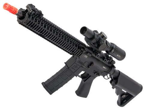EMG / Daniel Defense Licensed M4A1 RIS II SOPMOD Block II w/ GATE ASTER (Model: 12.5 Handguard / Black)