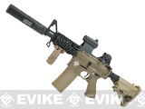 Evike.com G&P Rapid Fire II Airsoft AEG Rifle w/ QD Barrel Extension  (Package: Desert/Evike)