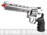 "Dan Wesson CO2 6"" High Power Airsoft 6mm Magnum Gas Revolver by ASG - Silver"