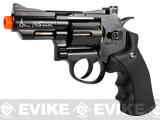 Dan Wesson CO2 2.5 High Power Airsoft 6mm Magnum Gas Revolver by ASG (Evike Exclusive / Black)