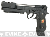 WE-Tech Barry Burton Custom Biohazard Gen 1 M9 Limited Edition Airsoft Gas Blowback Pistol - Semi Auto