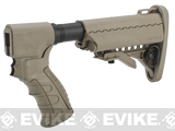 G&P Pistol Grip / M4 Stock Conversion Kit for M870 Series Airsoft Shotguns - Type C / Sand