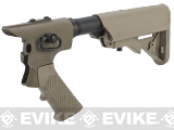G&P Pistol Grip / M4 Stock Conversion Kit for M870 Series Airsoft Shotguns - Type B / Sand