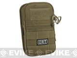 G&P ORT MOLLE Compatible Mobile Pouch (Color: Coyote Brown)