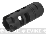 G&P MOTS Flashhider for Airsoft AEGs (Color: Black)