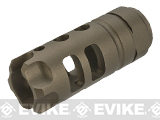G&P MOTS Flashhider for Airsoft AEGs (Color: Sand)