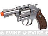 G&G Full Metal G731 CO2 Gas Airsoft Revolver - Silver