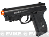 G&G Full Metal GS-801 Full Metal CO2 Gas Blowback Airsoft Pistol - Black