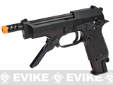 KWA NS2 M93R 3-Round Burst PTP Airsoft Gas Blowback (New Metal Slide & Frame Version)