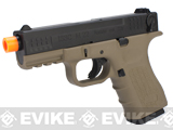 ISSC Licensed M-22 Full Metal Airsoft GBB Gas Blowback Pistol by WE - Desert