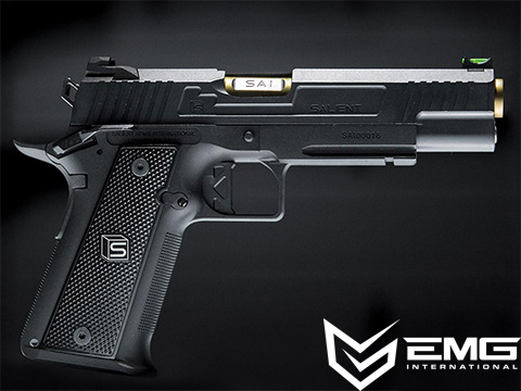 EMG / Salient Arms International 2011 DS Airsoft Training Weapon (Model: 4.3 w/ Gas Mag)