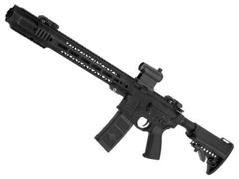 EMG / SAI GRY AR-15 AEG Training Rifle w/ JailBrake Muzzle w/ GATE ASTER Programmable MOSFET (Model: Black Carbine)