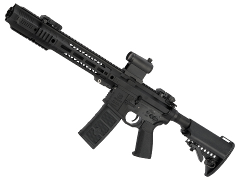 EMG / SAI GRY AR-15 AEG Training Rifle w/ JailBrake Muzzle (Configuration: SBR / Black / Black Export Furniture)