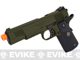 Socom Gear WE Full Metal 1911 Special Unit Airsoft Gas Blowback Pistol w/ Lanyard (Color: OD Green)