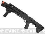 G&P M870 Magpul Short Entry RAS CQB High Power Airsoft Shotgun w/ $170 PTS UBR stock - Black