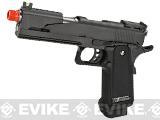 WE-Tech Competition Series Hi-CAPA Gas Blowback Pistol (Model: Alpha / Black / Standard Grip)
