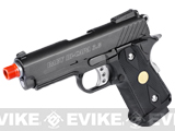 WE Full Metal 3.8 Inch Baby Hi-Capa Airsoft Gas Blowback Gun - Alpha