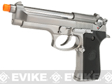 WE-Tech Full Metal M9 Heavy Weight Airsoft GBB Professional Training Pistol (Color: Silver)