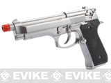 WE Full Metal M9 Heavy Weight Airsoft GBB Professional Training Pistol - Chrome