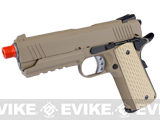 Pre-Order Estimated Arrival: 07/2013 --- WE Full Metal Desert Warrior Socom 4.3 FDE Airsoft Gas Blowback Pistol (Tan)
