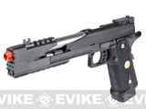 "Pre-Order Estimated Arrival: 11/2014 --- WE 7"" Xcelerator Dragon Full Metal Hi-CAPA Airsoft Gas Blowback w/ Ext. barrel - Black"
