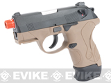 Pre-Order Estimated Arrival: 04/2014 --- Bulldog Compact Airsoft Gas Blowback GBB Pistol by WE (2 Mag Packge) - Tan