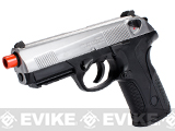 z Bulldog Full Size Airsoft Gas Blowback GBB Pistol by WE - Chrome