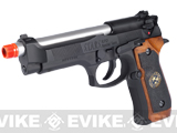 Pre-Order Estimated Arrival: 07/2013 --- WE Custom Samurai Edge Biohazard M9 Limited Edition Airsoft Gas Blowback - Black