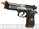 WE-Tech Custom Samurai Edge Biohazard M9 Airsoft Gas Blowback (Color: Two-Tone)