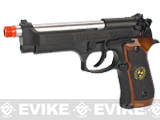 WE Custom Samurai Edge Biohazard Full-Auto M9 Limited Edition Airsoft Gas Blowback - Black