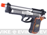 WE Custom Samurai Edge Biohazard M9 Limited Edition Airsoft Gas Blowback - (Two Tone Stainless)