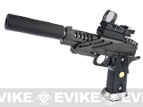 Evike.com Custom ZOMBIE KILLER Hyper Speed HI-CAPA Full Metal Airsoft Gas Blowback