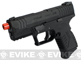 WE-Tech DM 3.8 Compact Airsoft GBB Pistol (2 Mag Package) - Black