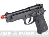 Pre-Order Estimated Arrival: 11/2014 --- WE Full Metal M9 Heavy Weight Airsoft GBB Professional Training Pistol - Black