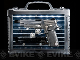 WE-Tech Full Metal P-VIRUS Limited Edition Airsoft GBB Pistol w/ LED Dispaly Case