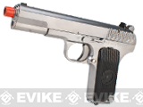 WE-Tech TT33 Full Metal Airsoft GBB Gas Blowback Pistol(Color: Chrome)