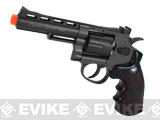 "WG CO2 Full Metal 4"" High Power Airsoft 6mm Magnum Gas Revolver (Black)"