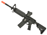 G&P AR-15 M4 Carbine Airsoft AEG Rifle with Billet Style Receiver - Black