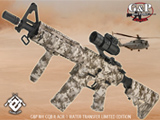 G&P M4 AOR-1 Desert Storm Special Edition CQB-R Full Metal Airsoft AEG Rifle