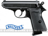 Umarex Walther Licensed PPK Full Size Airsoft Gas Blowback Pistol by Maruzen - Black
