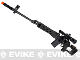 King Arms Full Metal SVD Dragonov Airsoft AEG Electric Sniper Rifle w/ Lipo Ready Gearbox