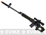 AIM Gas Blowback Russia Classic AK SVD Airsoft GBB Sniper Rifle w/ Scope - OD Green (580 FPS!)
