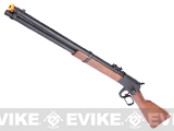 Matrix Special Edition M1892 High Power Lever Action Airsoft Gas Rifle by A&K (Model: Imitation Wood Stock)