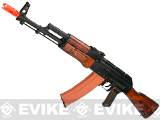 GHK Full Metal GK74 AK74 Airsoft GBB Rifle with Real Wood Furniture