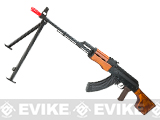 GHK RPK Full Metal Gas Blowback Rifle with Real Wood Furniture