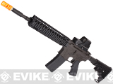 z Evike Custom King Arms M4 Airsoft GBB Rifle - Daniel Defense RISII 9